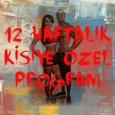 12 haftalik kisiye ozel program