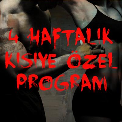 4 haftalik kisiye ozel program banner