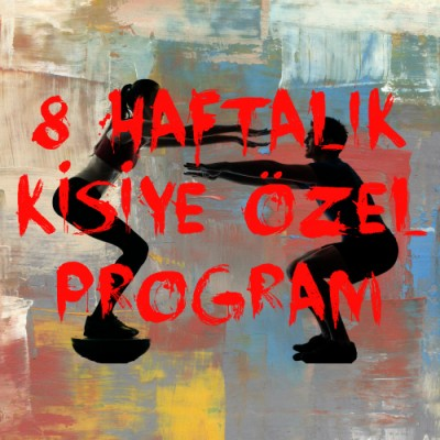 8 haftalik kisiye ozel program banner